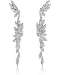 AS29   Bamboo Xl Long Earrings   Lyst