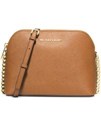 Michael Kors Michael Cindy Large Dome Crossbody - Lyst