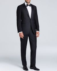 Canali Textured Tuxedo - Classic Fit black - Lyst
