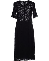 Nina Ricci Knee-Length Dress - Lyst