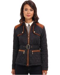 Vince Camuto Transitional Quilted Jacket - Lyst