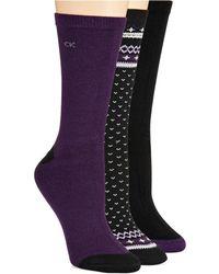 Calvin Klein Three Pack Soft Touch Socks - Lyst