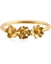 Pippa Small - Yellow-gold Ring - Lyst