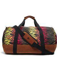 Mi-Pac - Mi Pac Duffle Bag in Hot Zebra Print - Lyst