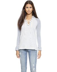 Splendid West Shore Active Pullover  - Lyst