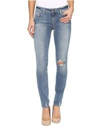 PAIGE - Verdugo Ultra Skinny In Pryor Destructed - Lyst
