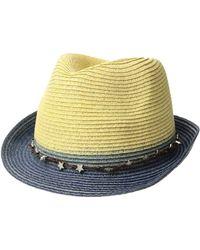 San Diego Hat Company - Ubf1099 Ultrabraid Fedora W/ Star Trim - Lyst
