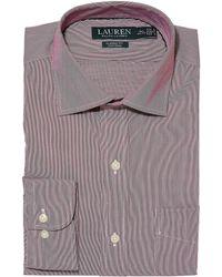 Lauren by Ralph Lauren - Non-iron Poplin Classic Fit Dress Shirt - Lyst