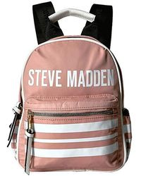 daad17a3860 Steve Madden Black Stripe Backpack in Black - Lyst