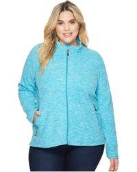 Roper - Plus Size 1464 Cationic Turquoise Micro Fleece - Lyst