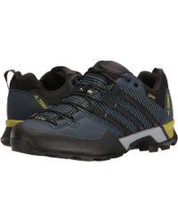Lyst Adidas Terrex alcance Gore - Tex senderismo zapato en negro para hombres