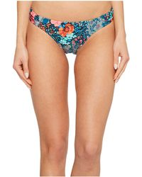 Laundry by Shelli Segal - Floral Paisley Tab Side Hipster Bikini Bottom - Lyst