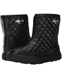 Love Moschino - Quilted Winter Boot - Lyst