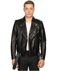 Marc Jacobs - Crosby Leather Jacket - Lyst