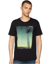 O'neill Sportswear - Treez Short Sleeve Screen Tee - Lyst