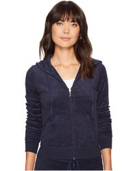 Juicy Couture - Robertson Microterry Jacket - Lyst