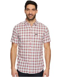 U.S. POLO ASSN. - Classic Fit Short Sleeve Sport Shirt - Lyst