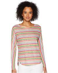 Nally & Millie - Pink Stripe Top - Lyst