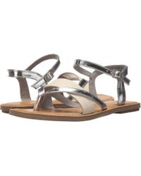 a0a40f1de06 Lyst - TOMS Women s Lexie Sandal in Brown