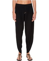 Laundry by Shelli Segal - Drape Cover-up Pant - Lyst