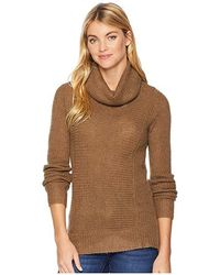 eb39d3f5ac00cb Mountain Khakis - Countryside Cowl Neck Sweater (tobacco) Sweater - Lyst