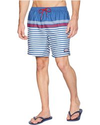 a96e216c10 Lyst - Vineyard Vines Smith Hill Striped Board Shorts in Blue for Men