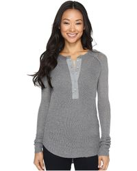 Rip Curl - Soft Spot Knit Henley Sweater - Lyst