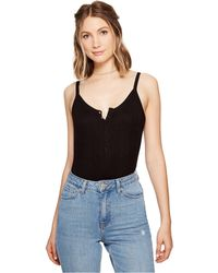 RVCA - Upward Ribbed Bodysuit - Lyst