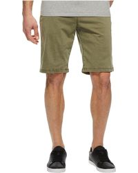 Lucky Brand - Stretch Sateen Flat Front Shorts - Lyst
