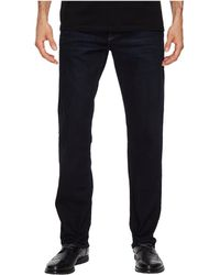 Mavi Jeans - Zach Regular Rise Straight Leg In Coated Authentic Vintage - Lyst