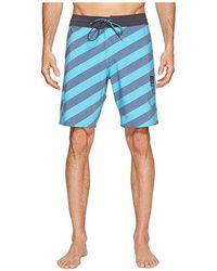 2c68499055 Volcom Men's Stripey Slinger Boardshorts in Red for Men - Lyst