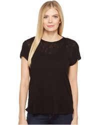 B Collection By Bobeau - Avery Boat Neck T-shirt - Lyst