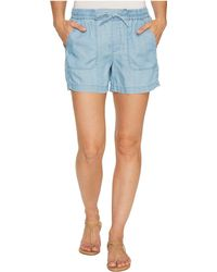 Two By Vince Camuto - Tencel Drawstring Shorts - Lyst