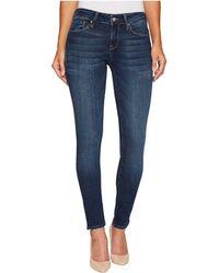 Mavi Jeans - Alexa Mid-rise Skinny In Deep Blue Tribeca - Lyst