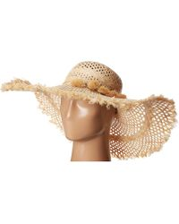 Lauren by Ralph Lauren   Frayed Sun Hat W/ Tassels   Lyst