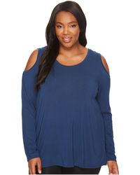 Lyssé - Plus Size Cold Shoulder Top - Lyst