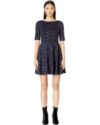 9f1bda293cf0 Lyst - Kate Spade Ruffle Poppy Shift Dress in Black