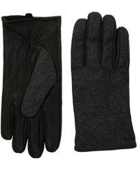 Scotch & Soda - Mix & Match Wool/leather Gloves - Lyst