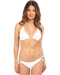 Emporio Armani   Triangle String Bikini   Lyst