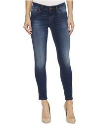 Mavi Jeans - Alexa Mid-rise Skinny Ankle In Mid Soft Shanti - Lyst