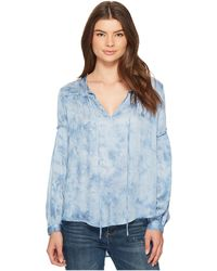 Amuse Society - Washed Out Woven Top - Lyst