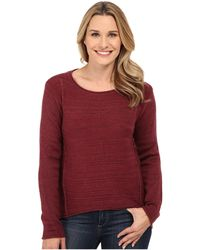 Jag Jeans - Boat Neck Drop Tail Sweater - Lyst