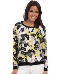 NYDJ - Sunny Floral Sweatshirt - Lyst