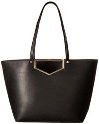 Calvin Klein | Novelty Cut Out Hardware Tote | Lyst