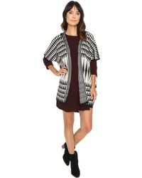 Michael Stars | Triangle Banded Cape | Lyst