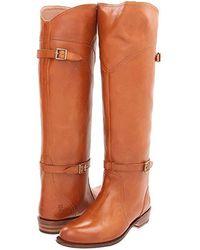 Frye - Dorado Riding (cognac Full Grain Brush Off) Pull-on Boots - Lyst