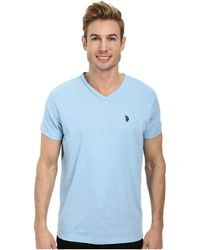 U.S. POLO ASSN. - V-neck Short Sleeve T-shirt - Lyst