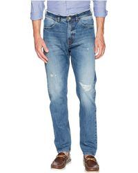 Eleventy - Five-button Baggy Jeans In Denim - Lyst