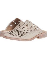 811f74b0d95 Lyst - Free People Paramount Slip On Loafer in Pink