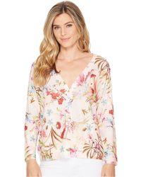 Nally & Millie - Floral Print Cardigan - Lyst